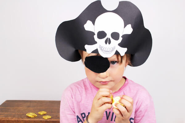 DIY Chapeau pirate
