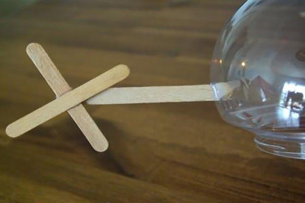 hélicoptère atelier DIY enfant