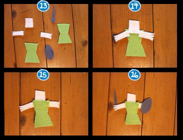 marionnettes pour doigts DIY