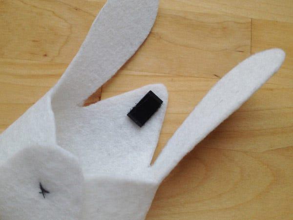 diy sac lapin Pâques