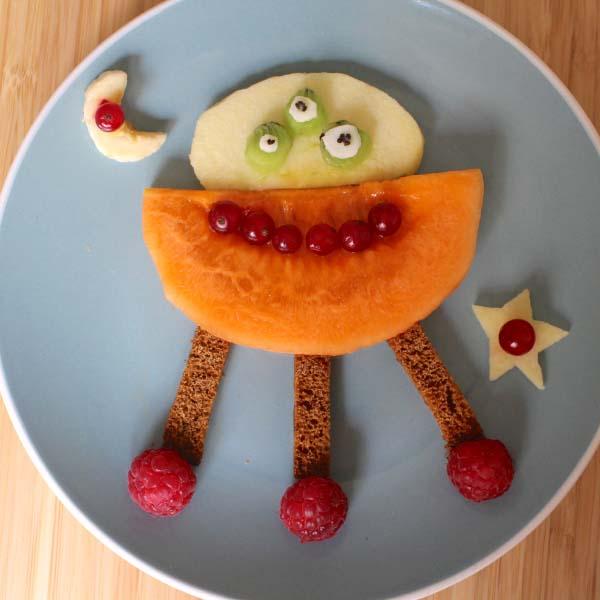 Manger en s'amusant !
