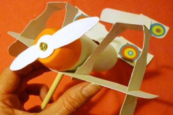 avion atelier enfant DIY