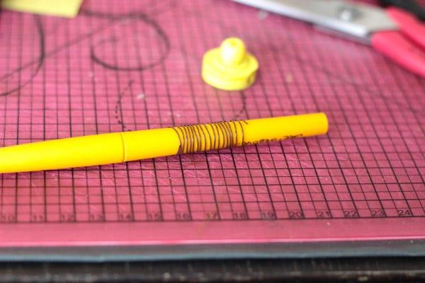 DIY pot à crayons