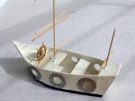 bateau pirate DIY enfant