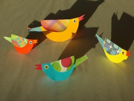 cabanes pour oiseaux DIY enfant