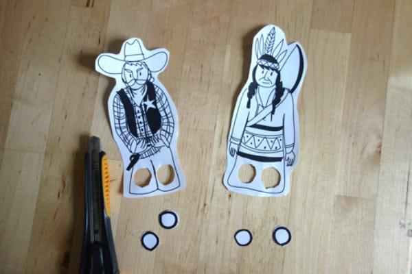 DIY Marionnettes Western