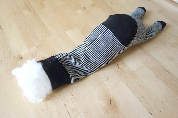 DIY doudou chaussette