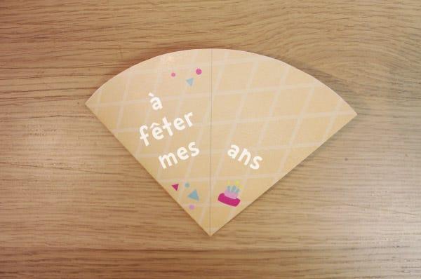 carton invitation anniversaire diy