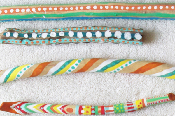 DIY bâtons indien