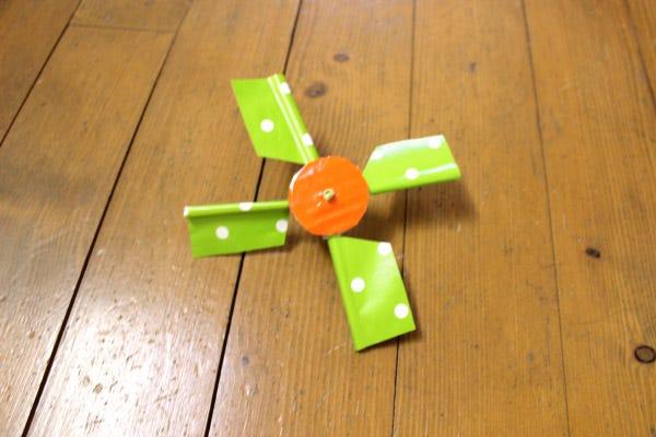 DIY enfant moulin