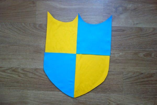 DIY déguisement chevalier