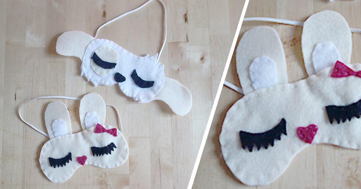 DIY masque animaux