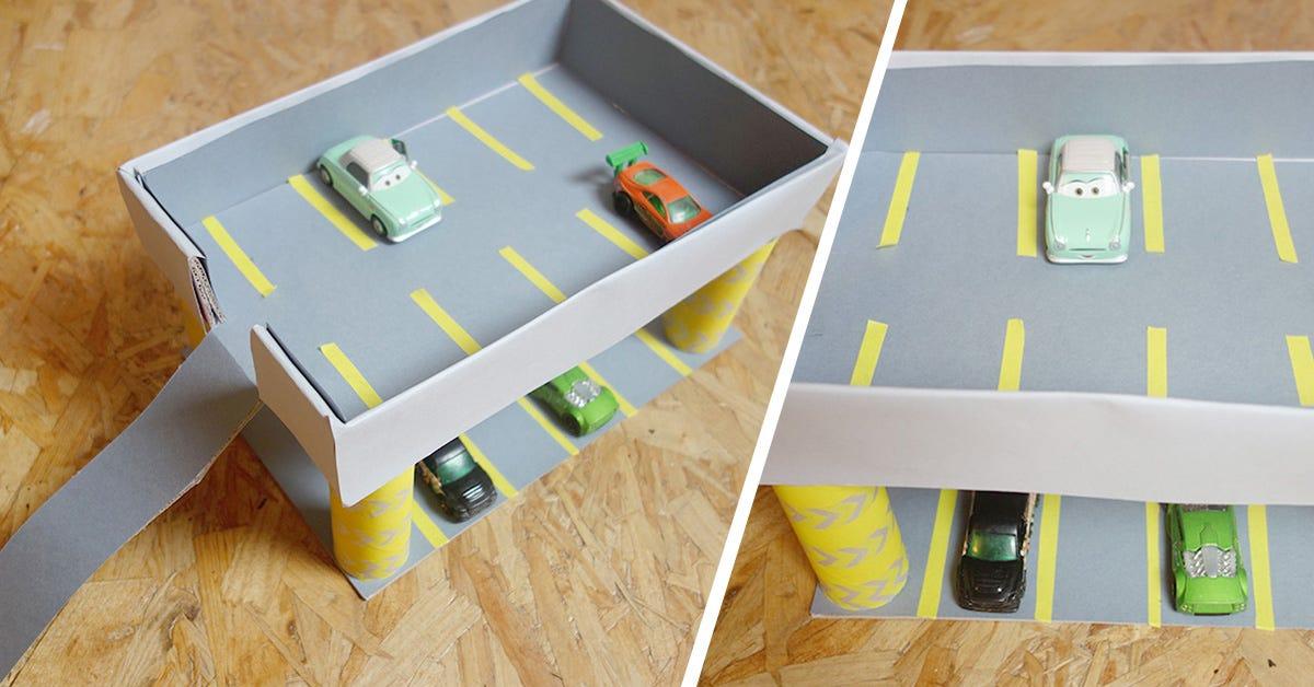 DIY gararge à voitures