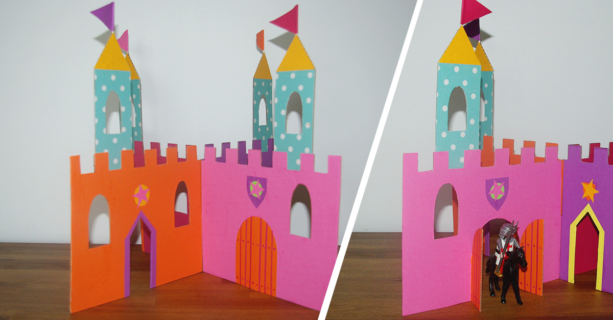 château de princesse diy atelier
