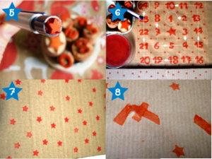 Calendrier avent DIY