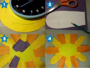 horloge maison DIY