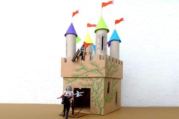 château de chevalier atelier DIY