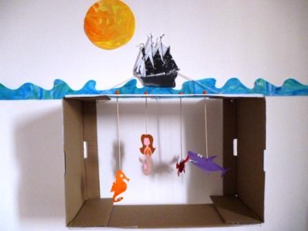 aquarium atelier DIY enfant