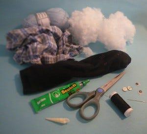 Licorne chaussette DIY