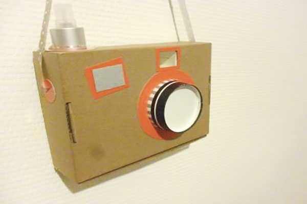 appareil photo enfant DIY
