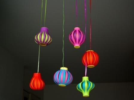 DIY lampions