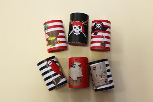 Chamboule-tout Pirates