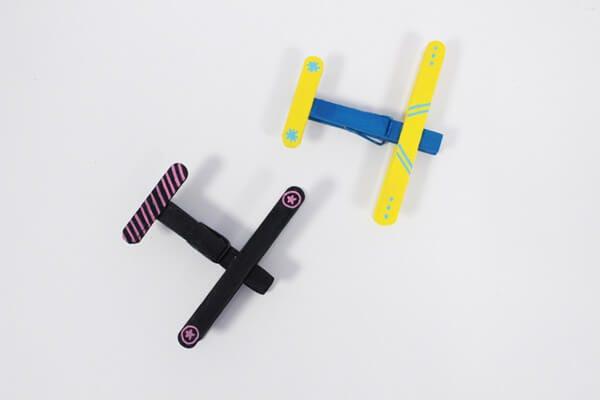 DIY avions en bois