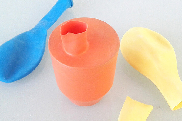 DIY vases ballons