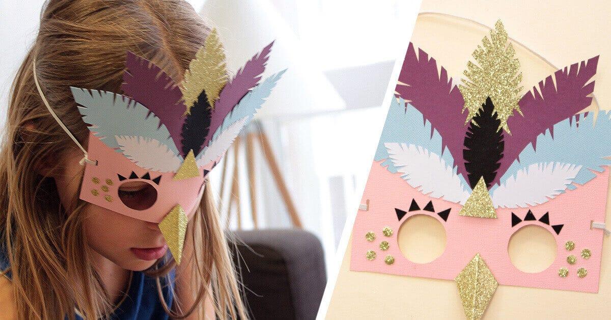 DIY masques déguisement