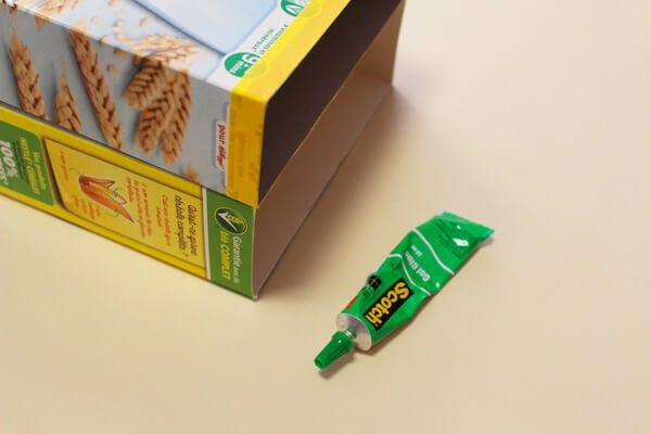 DIY boîte rangement