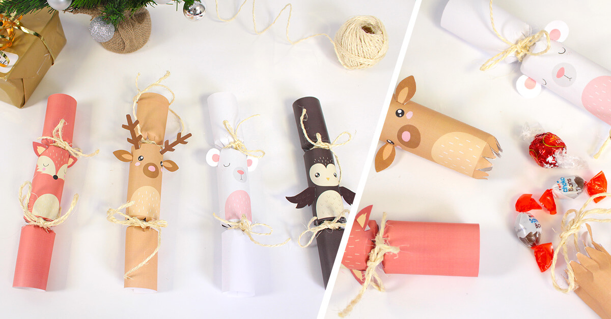 Printable Crackers Noël