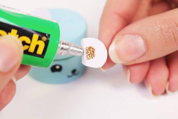 DIY boîte dents kawaii