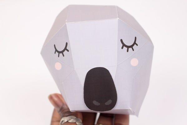 Trophée origami printable