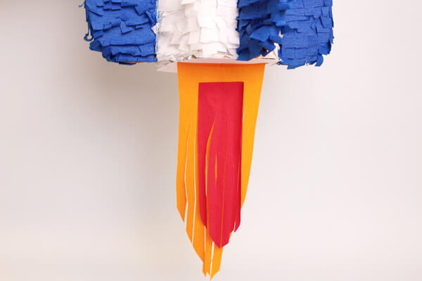 DIY Pinata anniversaire fusée