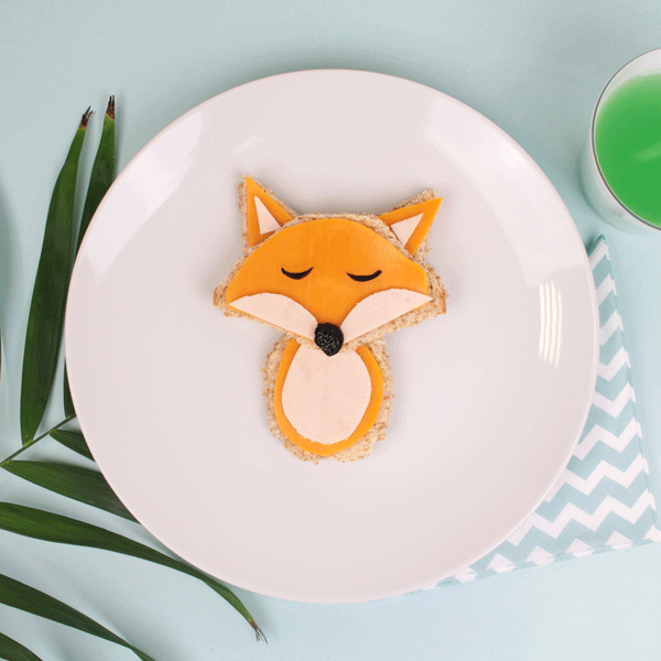Fun food idée sandwich-renard