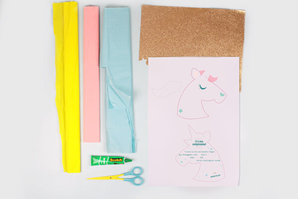 Diy Nos Adorables Invitations Licorne