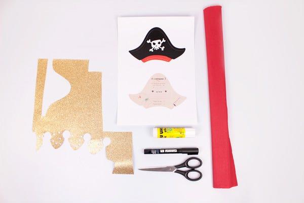 DIY Invitation Pirate