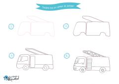 Dessins de véhicules de transports urbains