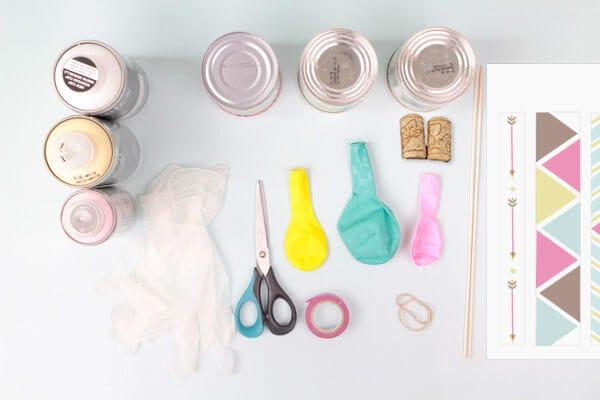 Atelier DIY de tam-tam indiens de récup