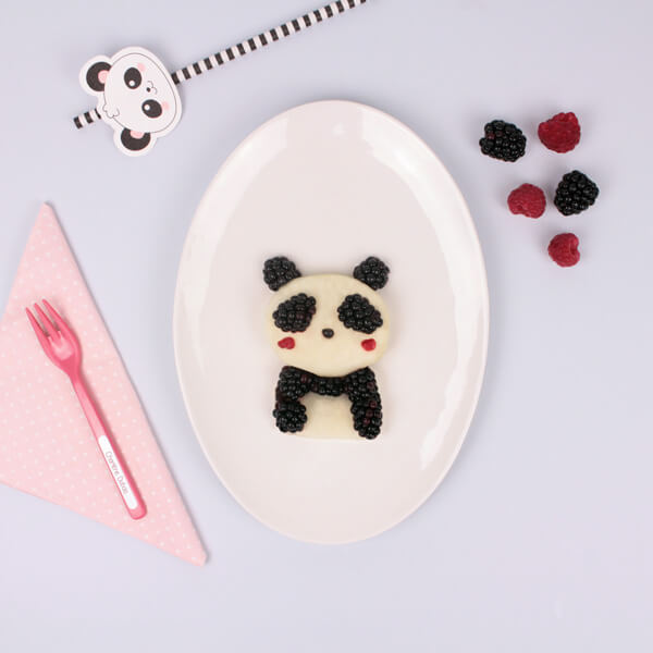 Funfood panda kawaii