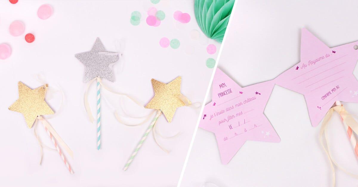 diy invitations d anniversaire baguettes magiques c monetiquette
