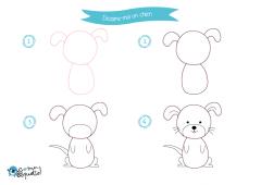 Dessine-moi les animaux de compagnie – dessins et coloriages d'animaux domestiques