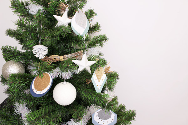 DIY Décorations sapin de Noël