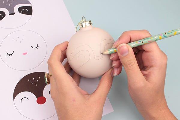 DIY Boules de Noel