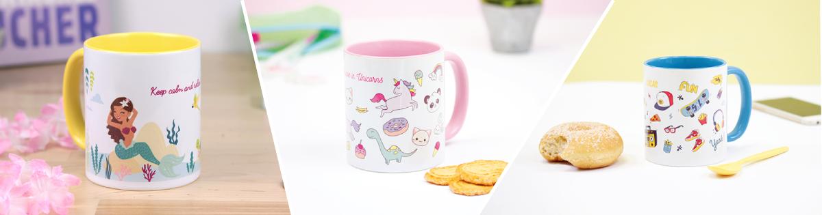 Nouveauté produit mugs personnalisables