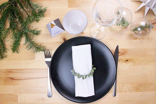 DIY Décorations table Noël