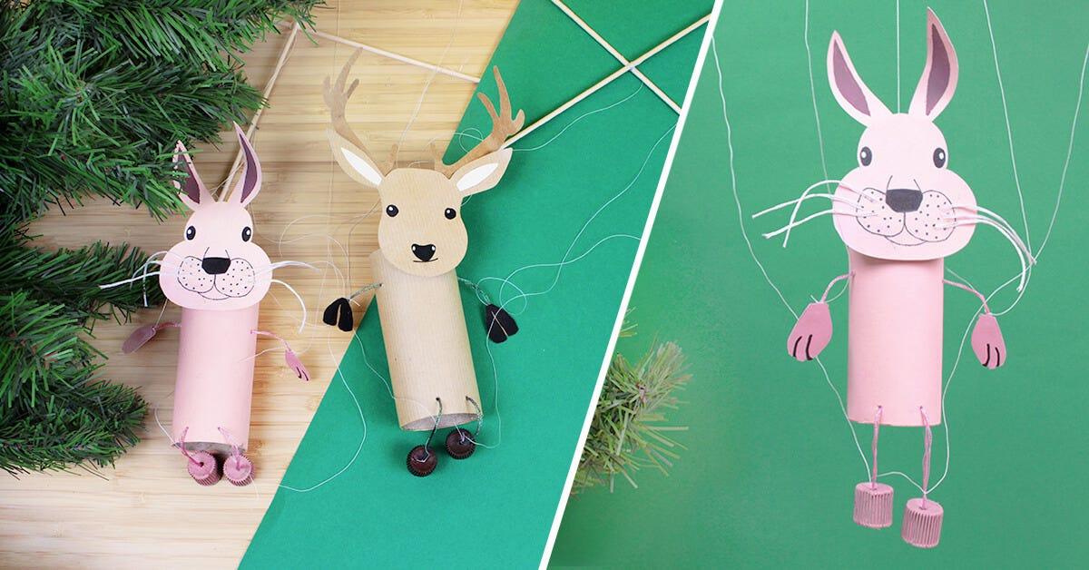 DIY marionnettes enfant