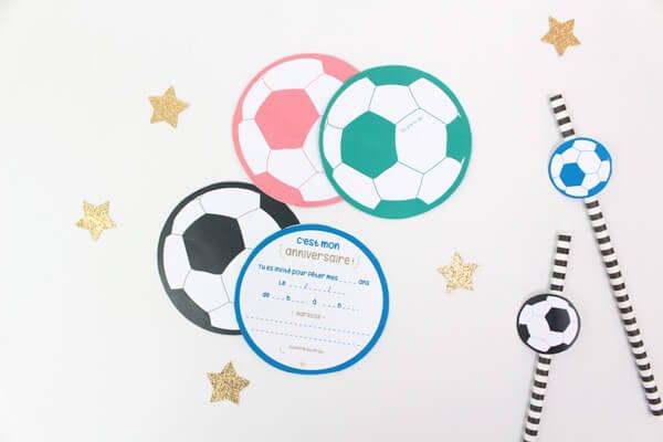 Kit anniversaire foot enfant