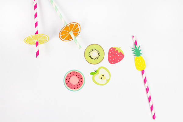 Atelier enfant DIY Invitations Fruits