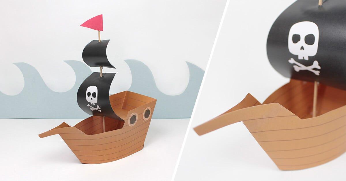 Construire Un Bateau Pirate Diy C Monetiquette